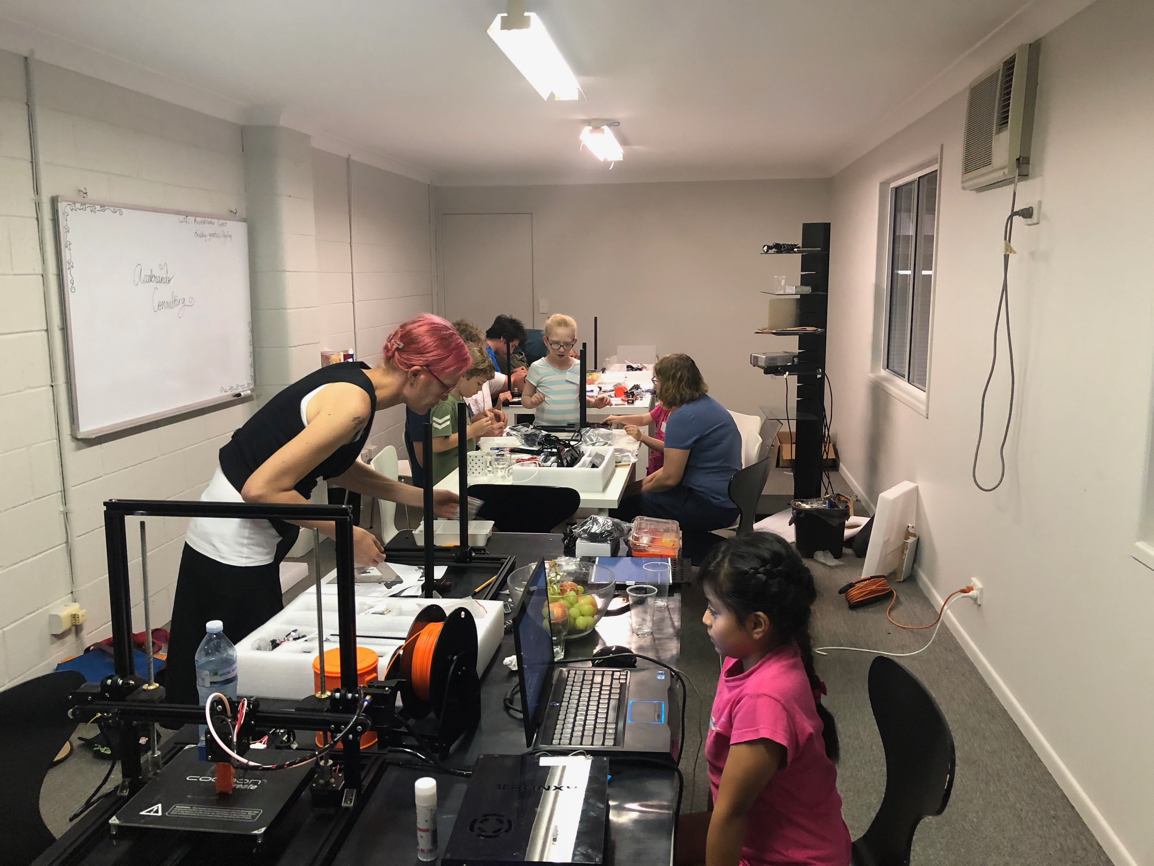 IoTBNE Build-your-own-3D-printer event